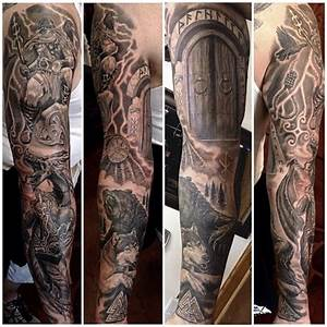 "@timothyboor's photo: ""Super fun Viking themed sleeve ..."