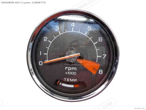 honda vt700c shadow 1986 g usa california speedometer