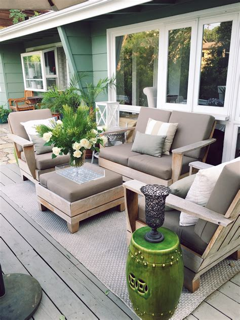Outdoor Decor by Outdoor Deck Decor My Winter Garden Spruce Up Cococozy
