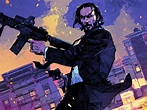 Desktop Wallpaper John Wick: Chapter 2, Art, Movie, Hd ...