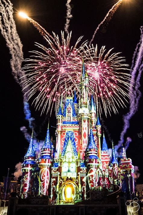 Happily Ever After Fireworks and Projection Show Debuts ...