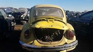 Junkyard Find  1972 Volkswagen Super Beetle