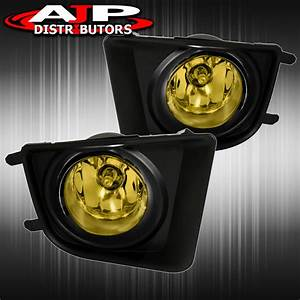 Driving Fog Lights Lamps Yellow Len   Wiring Harness For