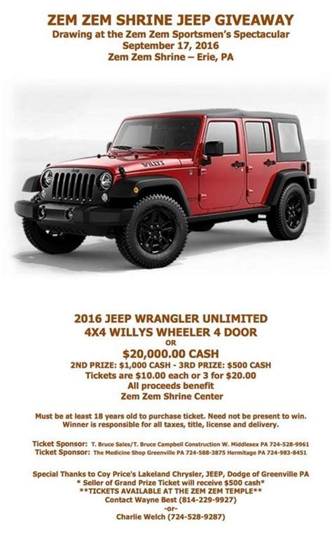 4 door jeep drawing 2016 jeep wrangler unlimited 4 4 willys or 20 000 cash