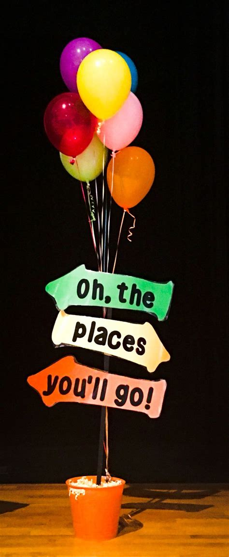 Oh The Places You Ll Go Decorations - oh the places you ll go kindergarten graduation