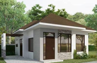 model rumah sederhana  kampung  modern  elegan