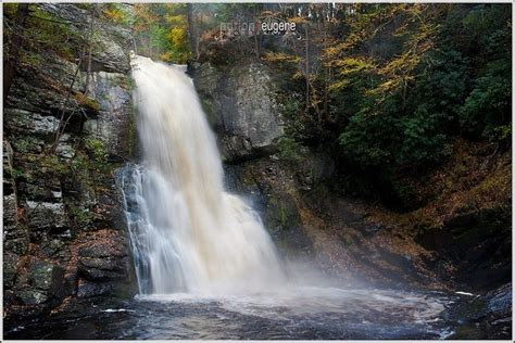 bushkill falls pennsylvania places