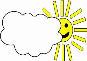 Partly Cloudy Weather Clip Art (59+)