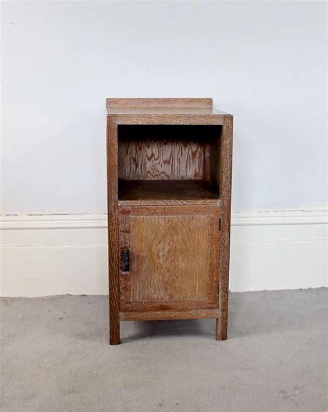 heals  limed oak bedside cabinet furniture