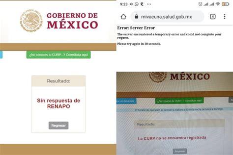 A partir de este martes, los interesados podrán acceder al sitio mivacuna.salud.gob.mx. Registro Vacuna Mexico Adultos Mayores / Jd82pr8pc8gn6m - También te puede interesar   así quedó ...