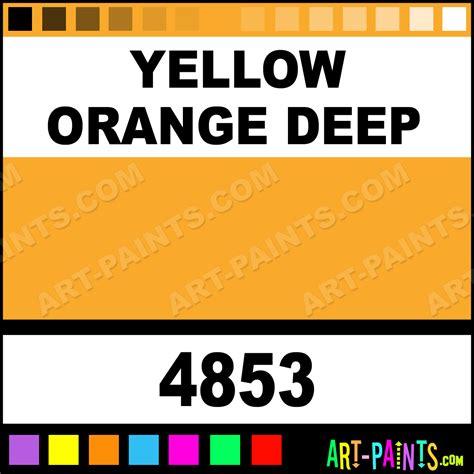yellow orange matte metal and metallic paints 4853