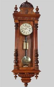 Walnut vienna wall clock for sale antiquescom classifieds for Antique wall clock for sale