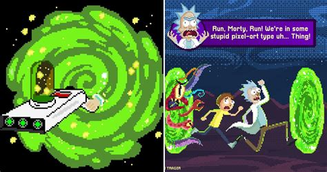 Pieces Of Rick And Morty Pixel Fan Art We Absolutely Adore