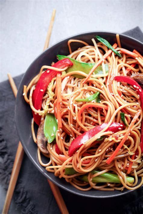teriyaki noodle stir fry wife mama foodie