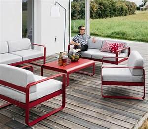 Mobilier De Jardin Fermob : collection bellevie fermob mobilier de jardin ~ Dallasstarsshop.com Idées de Décoration