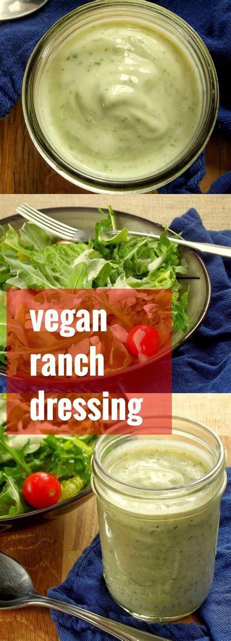 vegan ranch dressing silken tofu vegan ranch dressing connoisseurus veg