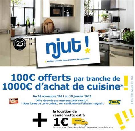 bon plan cuisine fabulous bon plan cuisine ikea offert par tranche de with