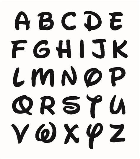 disney letter font disney letters letters free sle letters 28921