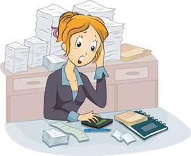 Female Accountant Clip Art