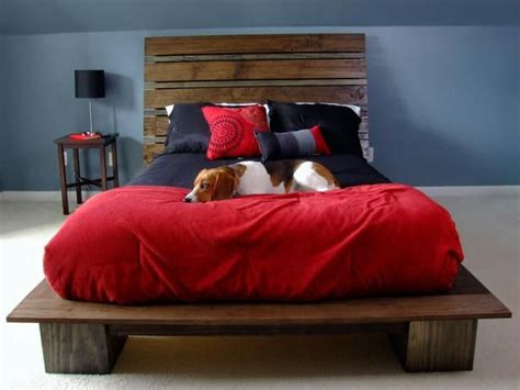 homemade bed frame plans woodworking projects plans