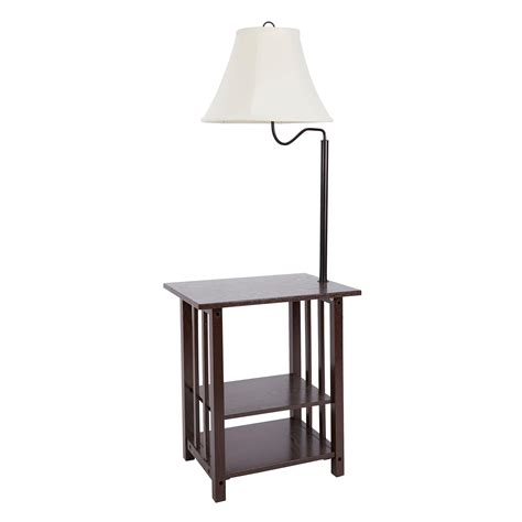 End Table With Attached Lamp  10 Reasons To Buy Warisan