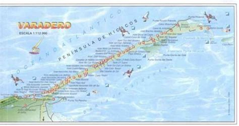 map  hotels  varadero cuba holidaymapqcom