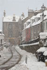 Edinburgh Scotland Snow