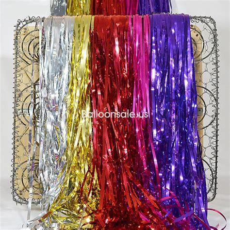 Pink Foil Fringe Curtain by Buy Pink Metallic Foil Fringe Door Curtain 2 4m