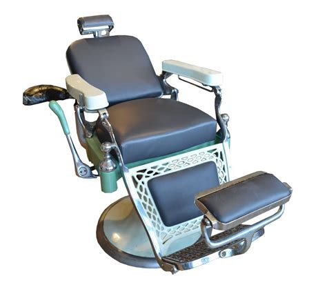 emil j paidar barber shop chair for sale at 1stdibs