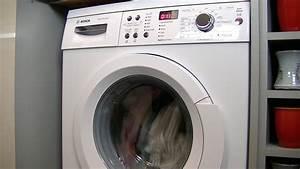 Bosch Waschtrockner Serie 6 : bosch serie 6 waq283s1gb automatic washing machine review demonstration youtube ~ Frokenaadalensverden.com Haus und Dekorationen