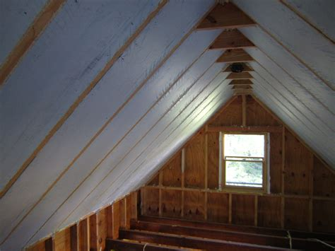Ceiling Attic by Insulating Attic Rafters Ceiling Attic Ideas
