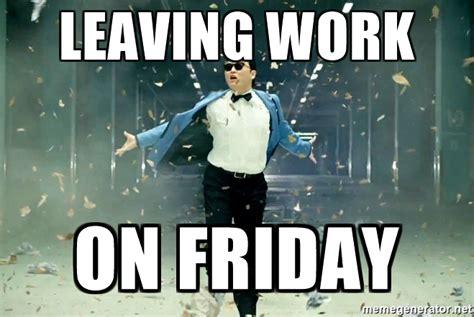 Leaving Work On Friday Meme - kermit memes about work