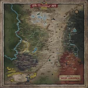 Fallout 76 Locations Fallout Wiki FANDOM Powered By Wikia