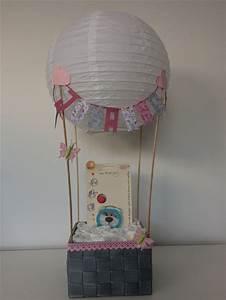 heißluftballon als geschenk zur geburt geschenke zur