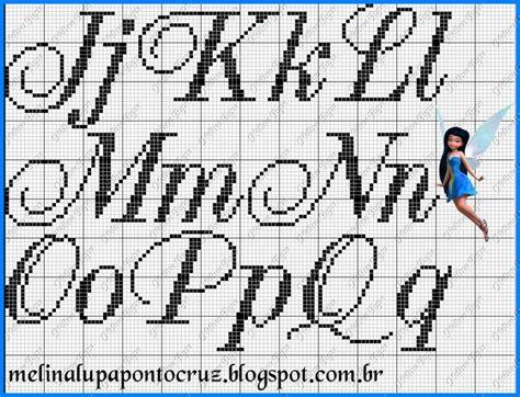 Gráficos de alfabeto em ponto cruz. Imagen relacionada (com imagens) | Fonte ponto cruz, Ponto cruz, Monogramas em ponto cruz