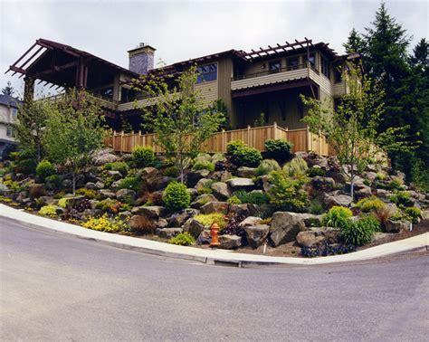 sloping front yard landscape design for sloped yards landscape maintenance service for sloped lots jpg