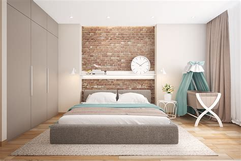 brick wall bedroom bedrooms with exposed brick walls