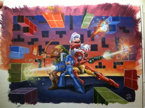 Mega Man Pictures And Jokes Games Funny Pictures