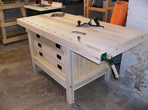 Woodworking cabinet makers workbench Plans PDF Download
