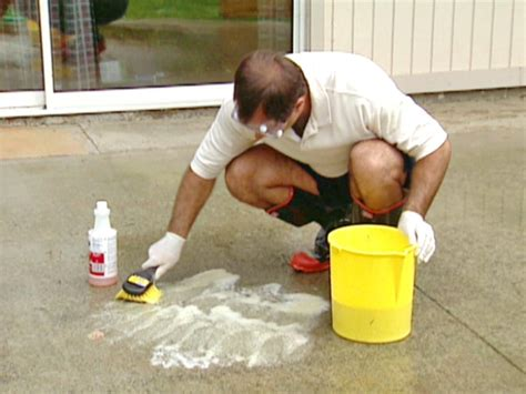 how to stain concrete how tos diy