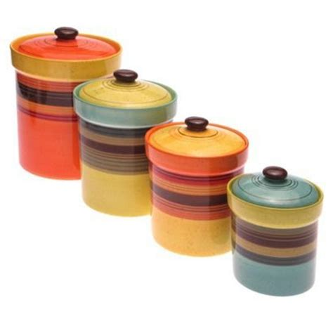 colorful kitchen canisters sets holy land paperback books canisters earthenware and 5570