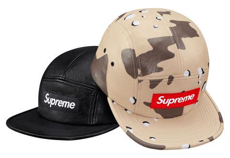 supreme cap supreme summer 2017 caps hats freshness mag