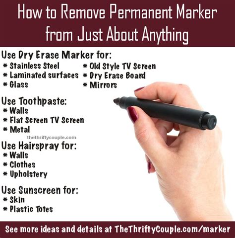 how to get sharpie off wood table how to remove permanent marker from just about anything