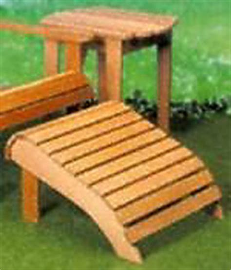 adirondack chair woodworking plans page