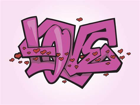 Graffiti Vector : Love Graffiti Vector