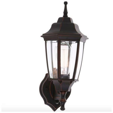 outdoor exterior porch light lantern bronze wall lighting