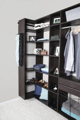 Closets Pictures by Dakota Closets 101 Quot W X 86 Quot H Java Wooden Closet System