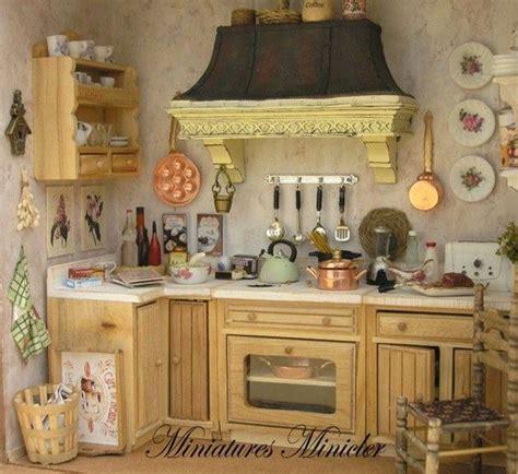 275 Best Dollhouse Kitchen Images On Pinterest  Doll
