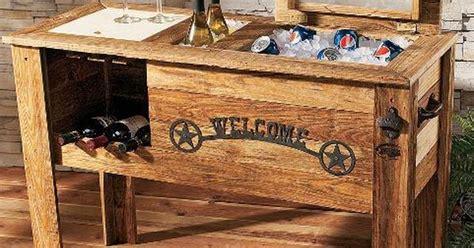 patio deck cooler plans   build  wooden cowboy cooler diy pinterest cowboys