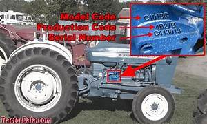 Ford 2600 Tractor Parts Diagram